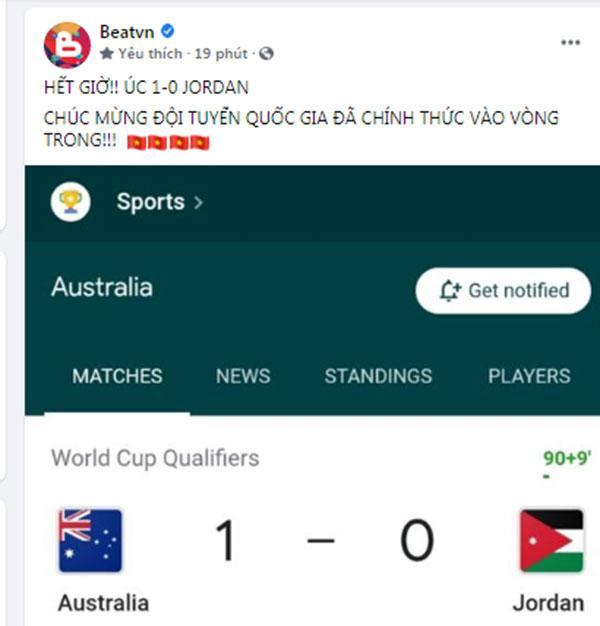 Mạng xã hội Việt bùng nổ khi Việt Nam chính thức lọt vòng 3 World Cup 2022-2