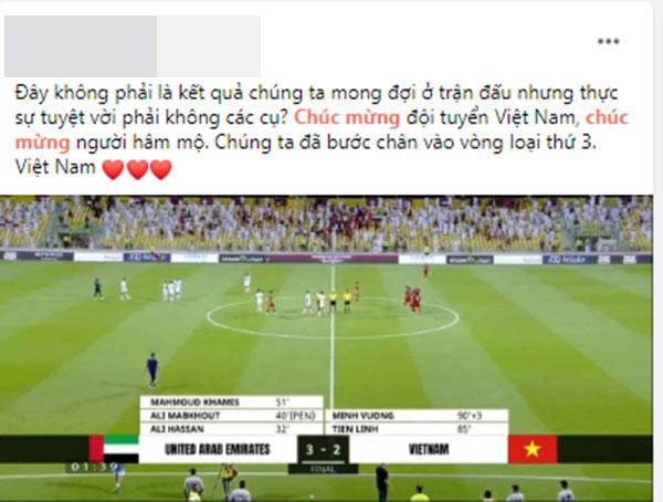 Mạng xã hội Việt bùng nổ khi Việt Nam chính thức lọt vòng 3 World Cup 2022-7