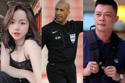 BTV Quang Minh bức xúc, bồ cũ Quang Hải 'tấn công' trọng tài trận Việt Nam - UAE