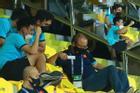 HLV Park và học trò ăn mừng Việt Nam 'chắc cú' đi tiếp vòng 3 World Cup
