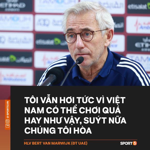 HLV tuyển UAE: Tôi hơi tức vì Việt Nam chơi quá hay, suýt nữa chúng tôi cầm hòa-1