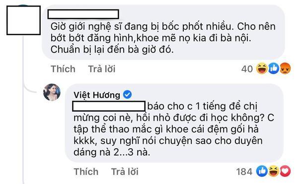 Bị cảnh báo dính phốt, Việt Hương có màn đáp trả khiến antifan câm nín-2