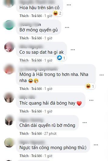 Khoe vòng 3 mẩy đét hệt HHen Niê, Quang Hải được phong Hoa hậu sân cỏ-6