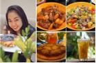 Tranh thủ đúng mùa, mẹ Hà Nội khoe thực đơn với đủ các món ăn được làm từ dứa