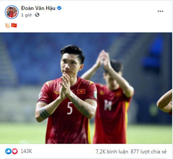 Đoàn Văn Hậu làm gì sau khi bị fan bóng đá mắng sốc ở trận gặp UAE?-3