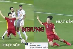 Văn Toàn 'khịa' cú ngã Công Phượng, tranh thủ quảng cáo áo phông trá hình