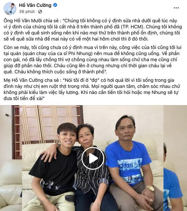 Fanpage Hồ Văn Cường đăng status mới, dân mạng: Hệt như dàn xếp-5