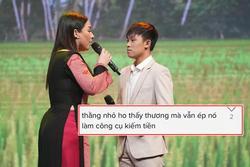 Hồ Văn Cường ho sặc sụa chờ lượt diễn, netizen xót xa 'công cụ kiếm tiền'