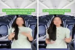 Xôn xao vụ nước uống trên máy bay dễ gây tiêu chảy, một nam tiếp viên làm video đáp trả