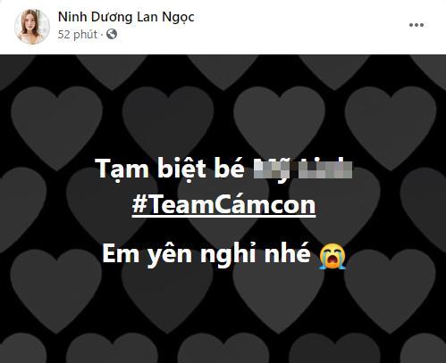 Ninh Dương Lan Ngọc bàng hoàng khi fan ruột trẻ tuổi qua đời-1