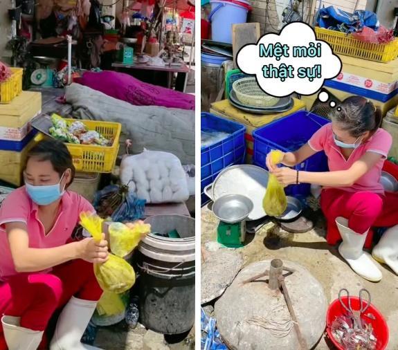 Được vợ Việt chỉ cách, chồng Tây đi mua tôm kiểu bá đạo làm người bán ái ngại-2