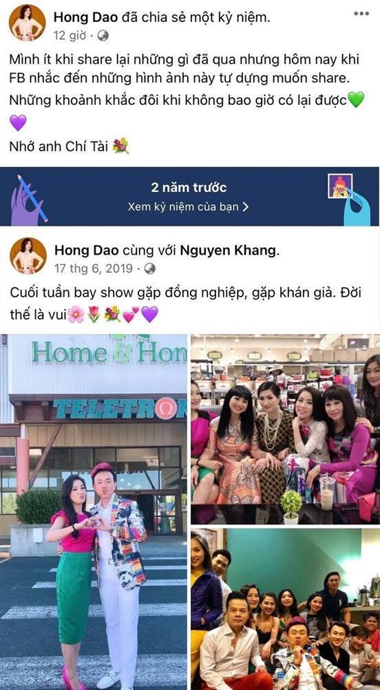 Hồng Đào đăng ảnh Chí Tài, chị Bé Heo bình luận ai nấy ngậm ngùi-1