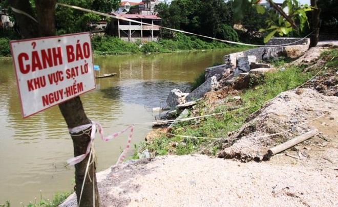 Hà Nội công bố tình huống khẩn cấp vì sạt lở kè, chân đê ở 4 huyện-1