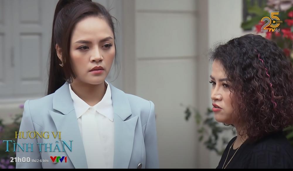 Thu Quỳnh Hương Vị Tình Thân bị chê làm tóc như... phim kiếm hiệp-16
