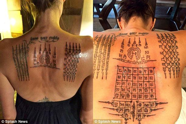 Tất tần tật ý nghĩa của gần 20 hình xăm trên cơ thể Angelina Jolie-12