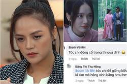 Thu Quỳnh 'Hương Vị Tình Thân' bị chê làm tóc như... phim kiếm hiệp