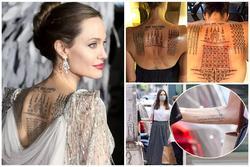 Tất tần tật ý nghĩa của gần 20 hình xăm trên cơ thể Angelina Jolie