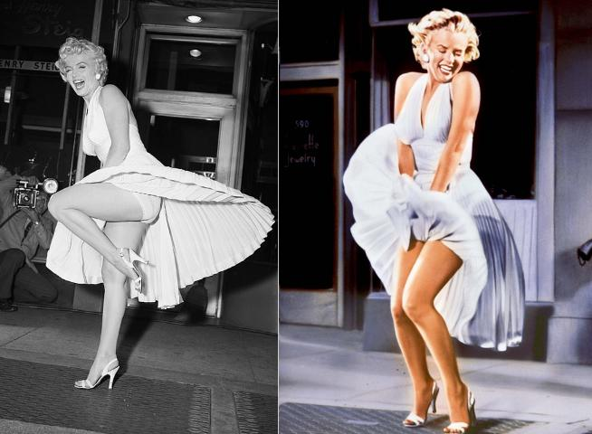 Katy Perry bị tốc váy lộ vòng 3 trên phố, được so sánh với Marilyn Monroe-2