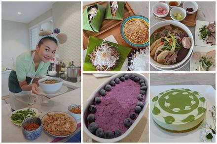 Siêu mẫu Thanh Hằng với những lần vào bếp không thua kém Masterchef
