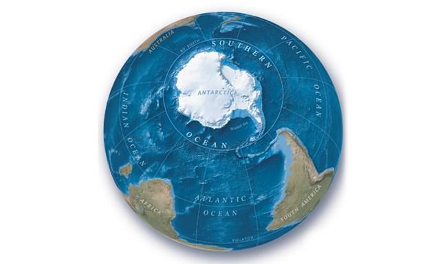 Chính thức công nhận đại dương thứ 5 - Nam Đại Dương-1
