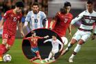 Quang Hải, Công Phượng bất ngờ 'chạm trán' siêu sao Ronaldo, Messi