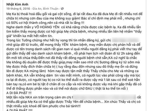 Hóa ra nhiều nghệ sĩ Việt cũng từng nhờ Võ Hoàng Yên chữa bệnh-3
