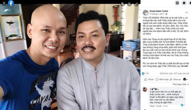 Hóa ra nhiều nghệ sĩ Việt cũng từng nhờ Võ Hoàng Yên chữa bệnh-2