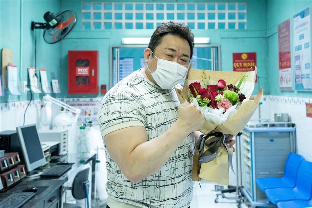 HOT: Ma Dong Seok bất ngờ khoe ảnh đến Việt Nam quay phim-1