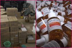 Loại serum vitamin C nổi tiếng bị làm giả trắng trợn ở Hà Nội