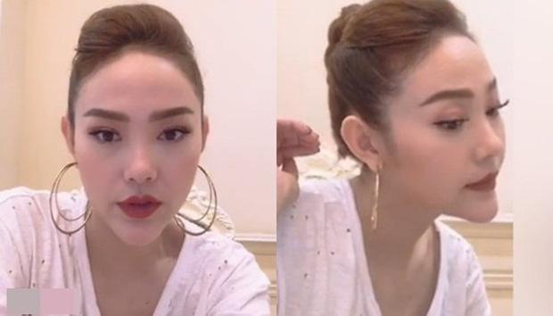Nhan sắc khác lạ khiến netizen nghi sửa mũi, Minh Hằng lập tức phủ nhận-9