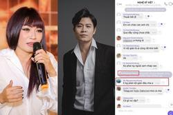 Phương Thanh, Nguyễn Văn Chung nói rõ việc tham gia group chat chấn động showbiz