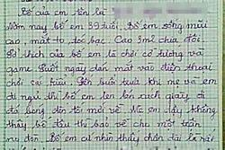 Nhóc tiểu học làm văn tả 'bố chân ngắn, chỉ mê gái' đọc cười muốn sảng
