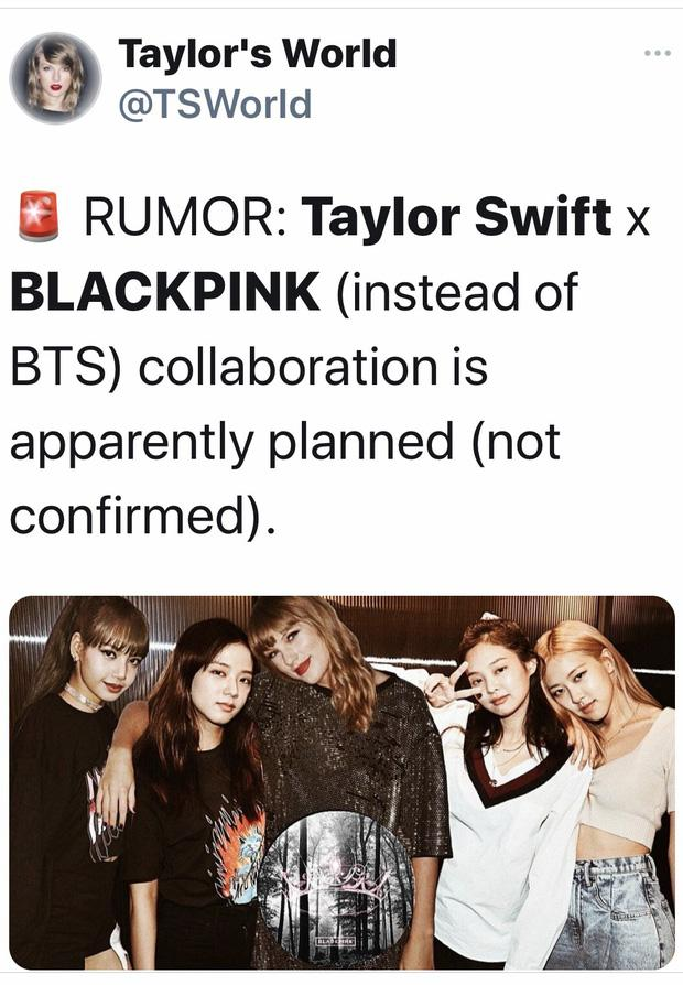 Rộ tin đồn Taylor Swift hợp tác với 1 sao Kpop, fan đoán ngay là BLACKPINK-2