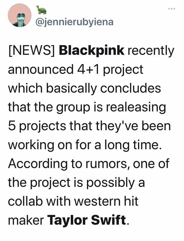 Rộ tin đồn Taylor Swift hợp tác với 1 sao Kpop, fan đoán ngay là BLACKPINK-6