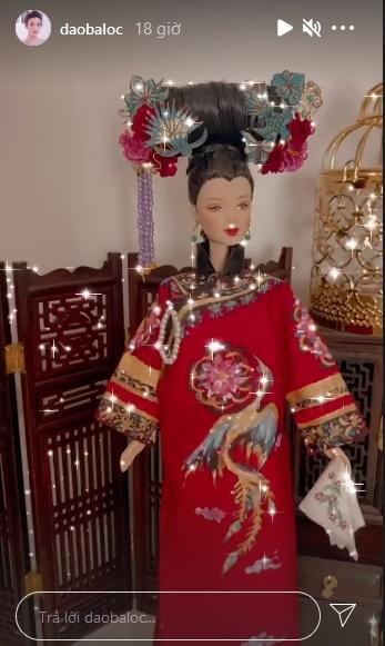 Đào Bá Lộc may từ nội y đến váy hậu cung cho búp bê đẹp ngây người-7