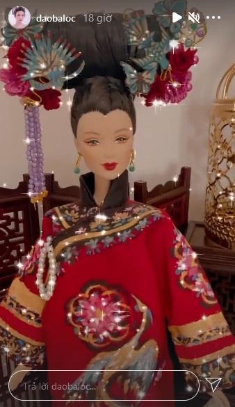 Đào Bá Lộc may từ nội y đến váy hậu cung cho búp bê đẹp ngây người-8
