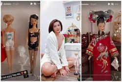 Đào Bá Lộc may từ nội y đến váy hậu cung cho búp bê đẹp ngây người