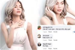Hồ Ngọc Hà khiến fan tưởng mới ốm dậy chỉ vì màu tóc 'sai quá sai'