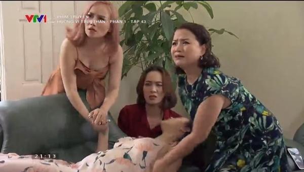 Hương Vị Tình Thân tập 43: Huy chốt đơn cưới Thy, bà Xuân bị mắng té tát-3