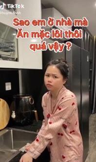 Bồ cũ Quang Hải bị bạn trai mới chê ăn mặc lôi thôi khi ở nhà-1