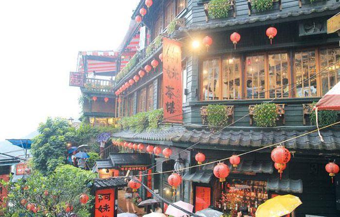Cửu Phần - ngôi làng cổ lãng mạn ở Đài Loan-1