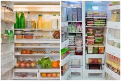 4 bước giúp bạn sắp xếp thực phẩm trong tủ lạnh một cách ngăn nắp