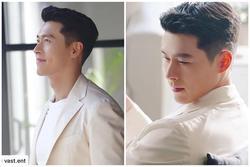 Hyun Bin diện suit trắng cực phẩm 'chụp ảnh cưới' với Son Ye Jin?