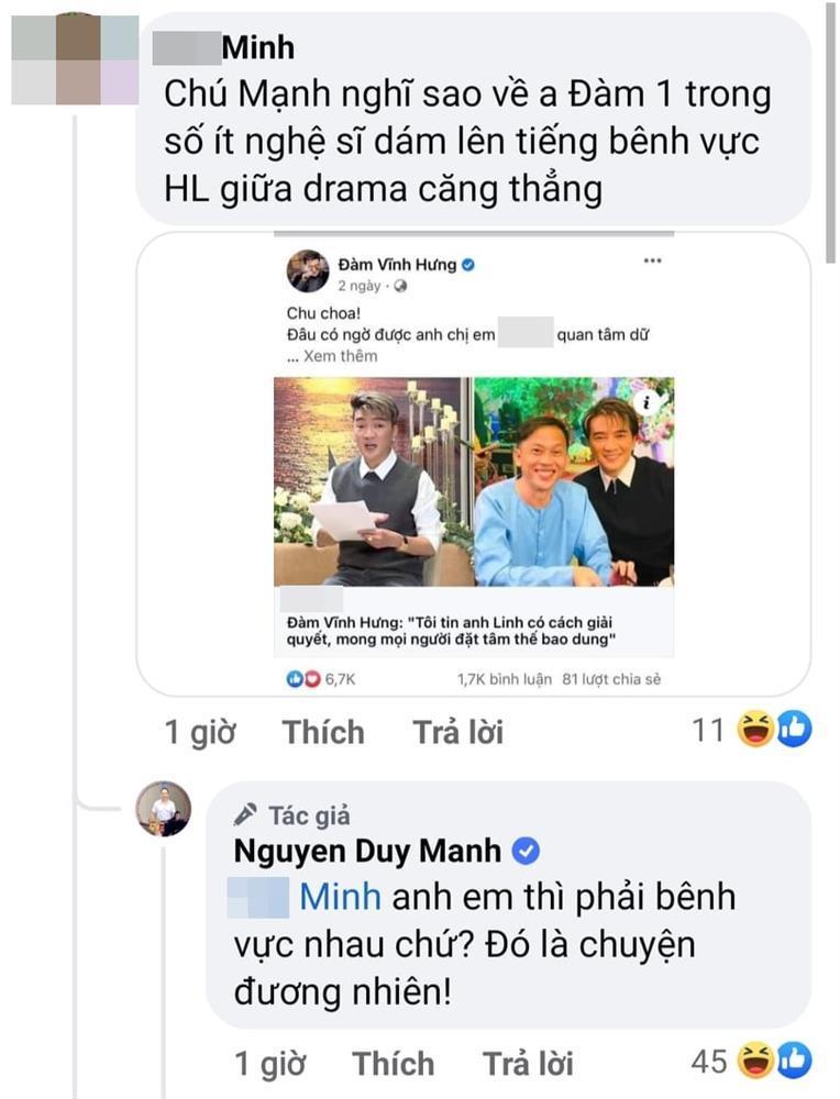 Mr Đàm mong khán giả bao dung Hoài Linh, Duy Mạnh nhận xét gắt-3