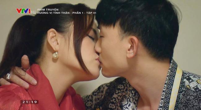 Clip Thu Quỳnh hôn đắm đuối tình cũ của em gái, giải thích vì sao có bầu-1