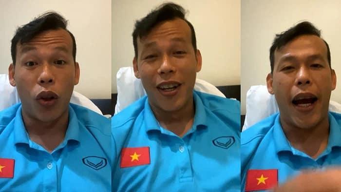 Cách nhau vài bước chân, tuyển Việt Nam vẫn phải tâm sự qua video call-4