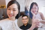 MC đình đám VTV được cầu hôn trên máy bay, bất ngờ profile nhà trai
