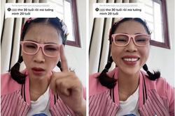 Biểu cảm Thơ Nguyễn khi bị antifan nhận xét: '30 tuổi rồi mà tưởng mình 20'