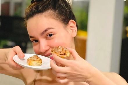 Món bánh của Hồ Ngọc Hà được cả nhà khen