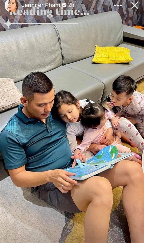 3 con Jennifer Phạm cùng xuất hiện, ngoại hình ai nấy trầm trồ-5